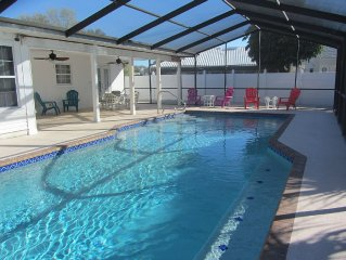 3/2 pool home 5 miles to beach!