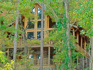 Greers Ferry Lake - Ozark Mountain Paradise - Moon Shadow Lodge