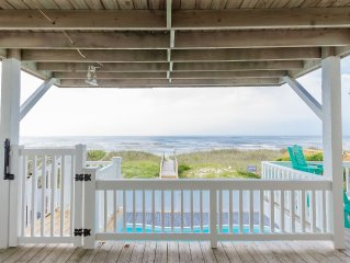 Gorgeous, Remodeled 5 Br 4 Bth Oceanfront Home With Private Heated Pool!
