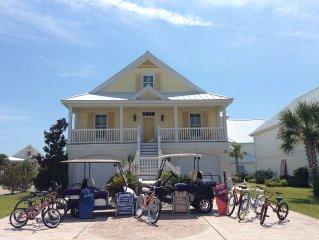 Large Beach Home-Golf Cars, Pools, 5BR 4BA