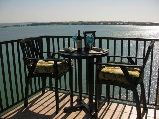 LUXURY BAHIA POINTE WATERFRONT Condo/Panoramic Views!  Dolphins, Manatee, More!!