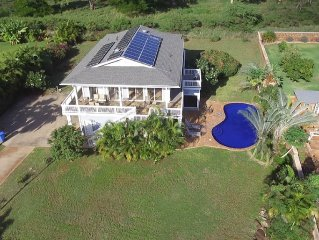 6 Bedroom, 7 Bath Home with Private Pool -  Ocean & Mountain Views