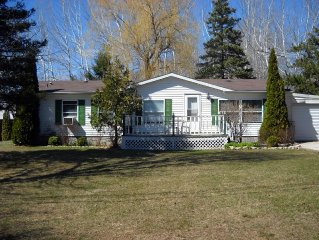 'YOUR PLACE'   3-bedroom, 2-bath ranch style home in the village of Egg Harbor