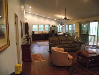 located close to parks  attractions railroad and trout fishing