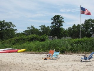 *Spacious and charming vacation home four houses from our deeded beach*
