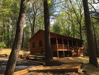 'Solitude' Spectacular 1 BR Cabin with Hot Tub Ne