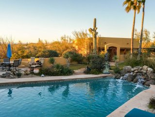 Lush Tranquil Private Resort-Like Casita on 5 acres in North Scottsdale