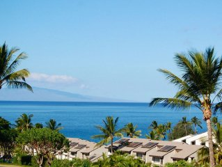 Sweeping Ocean Views * Maui Kamaole - Popular Jasmine217. May/June * $169+/nt