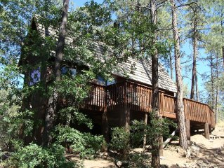 Private Cabin Hideaway On 1 Acre; 5 Minutes From Downtown Prescott