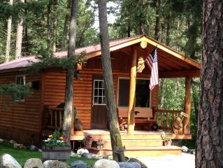 'New'  Country Cabin- Near Glacier National Park & Whitefish MTN Ski