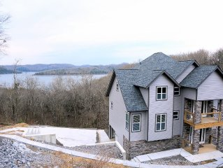 Beautiful new home with great lake views