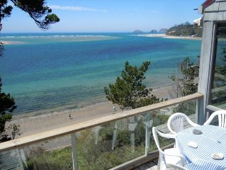Beautiful Beach Front Cabin with Panoramic Views of Pacific Ocean and Netarts Ba