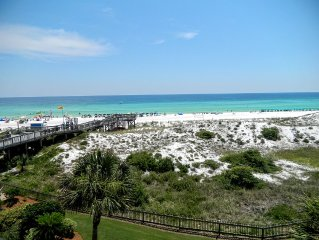 Beachside Condo with beautiful views of the Gulf of Mexico from the balcony!