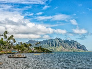 Ku'ono Hale Oceanfront w/Access to Bay. September/October $150/nt Special