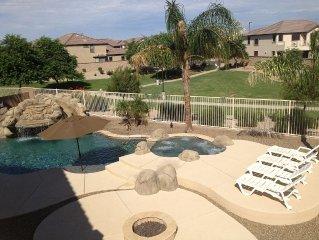5 Bedroom Home with Backyard Pool & Waterslide