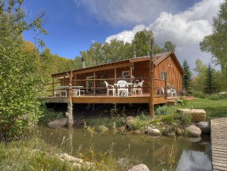 Durango Colorado Riverside Cabin Waterfront Water's Edge Water River Pond Creek!