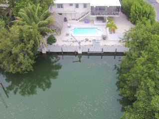 Dream Home in the Keys with Heated Pool Legal Weekly Rental