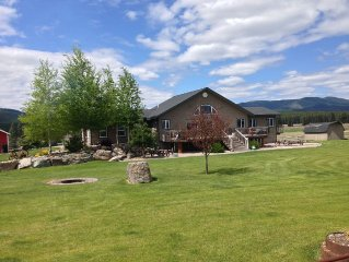Escape To Our Ranch Home 360 Degree Views, Between Kalispell And Whitefish