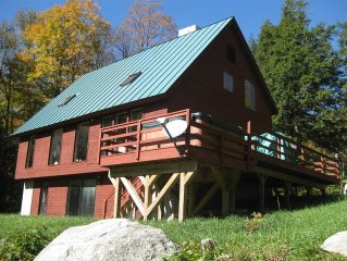 Stratton Mountain Area - Great Home, Hot Tub, Spectacular View