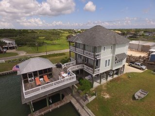 Waterfront Luxury House, Boathouse w/ Lift, Fishing Pier, Views