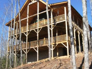 Upscale Cabin w/yr-round views - Reviews! Inquire about last minute rates!