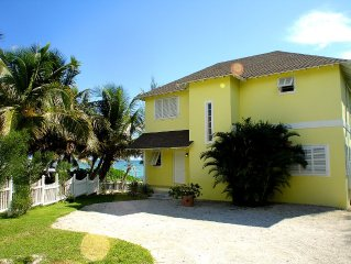 Villa Right On The Ocean, Private Property In Cul-de-sac, Secluded, Quiet