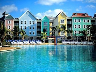 Harborside Resort Atlantis--2 Bedroom Lockoff--Atlantis Wristbands Included
