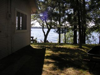 Vintage cabin, Whitefish Chain, Downtown Crosslake, Biking, Sleeps 8