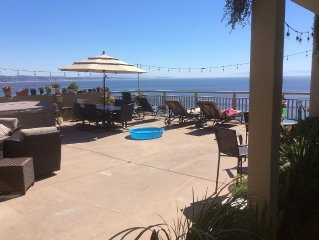 Ocean Front Panoramic View With 1200sf Deck