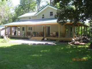 Remodeled Farmhouse on 23 private acres
