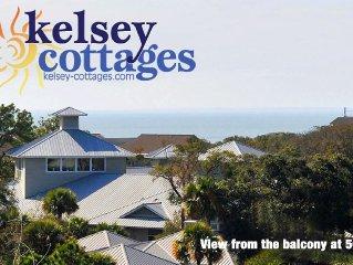 504 North Shore Place-Across from Beach! 2B/2B TreeTop Ocean Views!