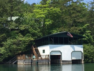 Spacious 5 Bdrm/5 Bath Home On Best Part Of Lake Rabun With Amazing Views!