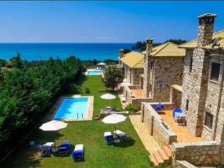 Caretta B House in Rikia Romanos Messinia Greece