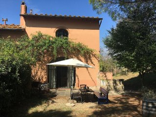 Agritourisme de qualite avec piscine et chauffage a deux pas de Florence !