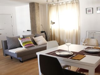 Abastos-area apartment in Valencia