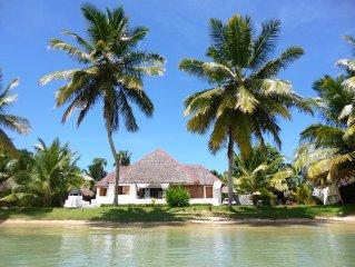 Villa 'Alexandra' les pieds dans l'eau