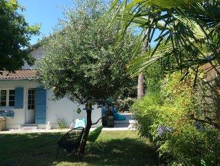 Maison de charme, avec spa, Andernos, Bassin d'Arcachon