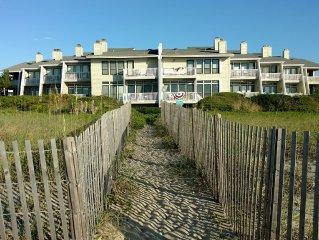 Oceanfront Condo in Wrightsville- Big Beds, Gazebo, Boat Slip!