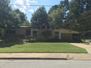Centrally-Located Fayetteville Home With Excellent Outdoor Space