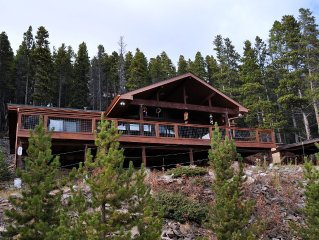 Spectacular views of Mt. Evans and Clear Creek Canyon