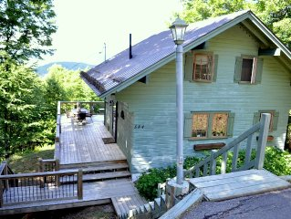 Pet Friendly 3 Bedroom Tremblant Chalet - perfect for two families