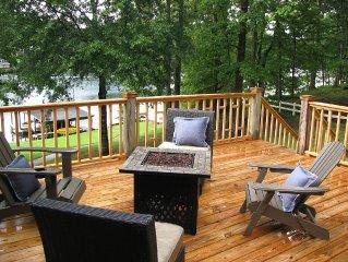 Lake Tuscaloosa ~ Waterfront ~ Sleeps 16 ~ UA Gameday