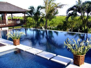 5 bedroom SUPERB Ricefield & Sunset View