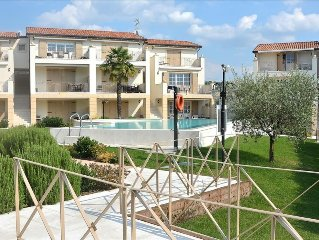 Corte Molini - 4 sleeps apartment in residence with pool - Garda