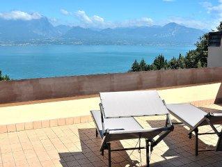 Ca Brancoli - 6 sleeps apartment with lake view in Torri del Benaco