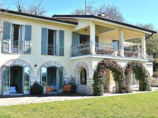 Villa Ilaria 8 Sleeps Panoramic Villa With Pool In Albisano Di Torri del Benaco