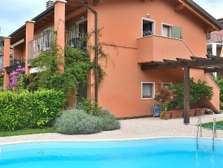 Apartment Ca Nova - 4 sleeps apartment in residence with pool - Garda