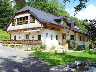 Holiday Eisensteiner mill for 2 - 5 people with 2 rooms - Apartment in farmhouse