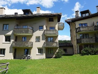 Apartment Chesa Blais B2  in Silvaplana - Surlej, Engadine - 4 persons, 2 bedro