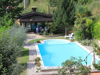 La Casa delle Torri is a gracious newly built cottage, with private pool, immer